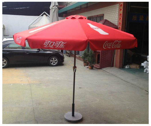 Previous Details Silk Screen Printed Coca Cola Round Patio Umbrella